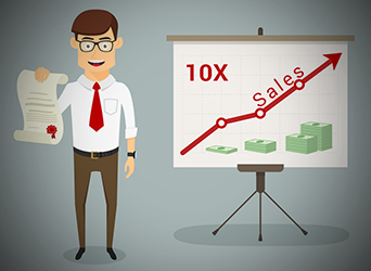 How to increase sales by 10 times not 10%?